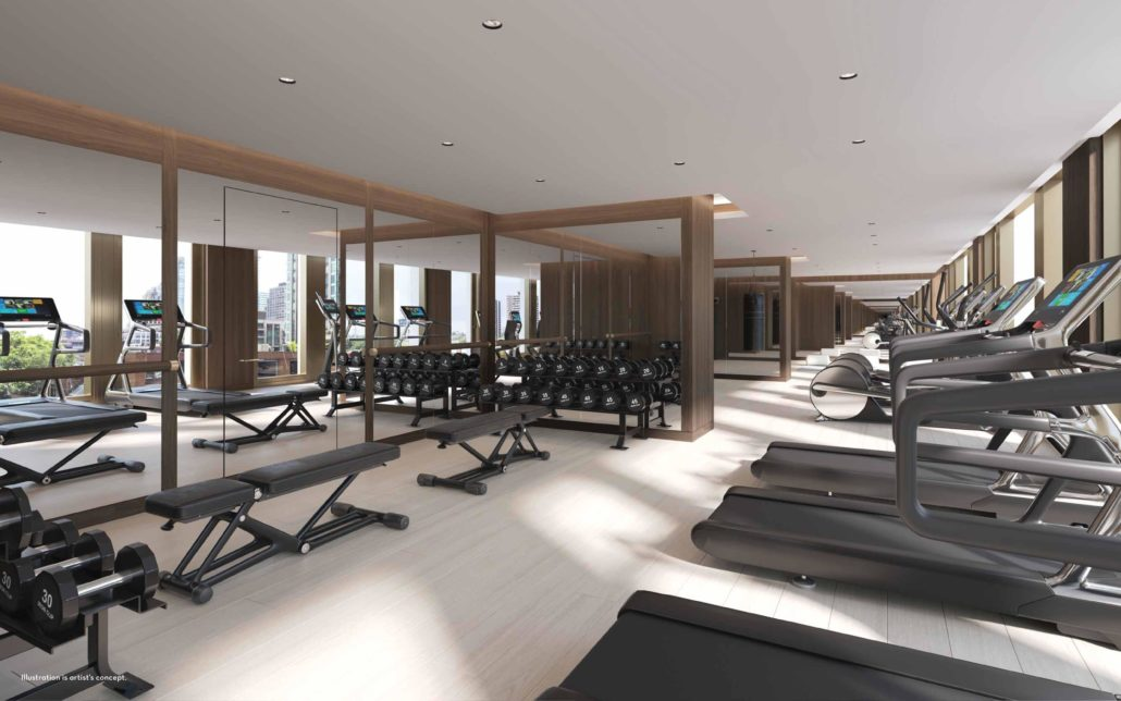 Fifty Scollard Condos Gym