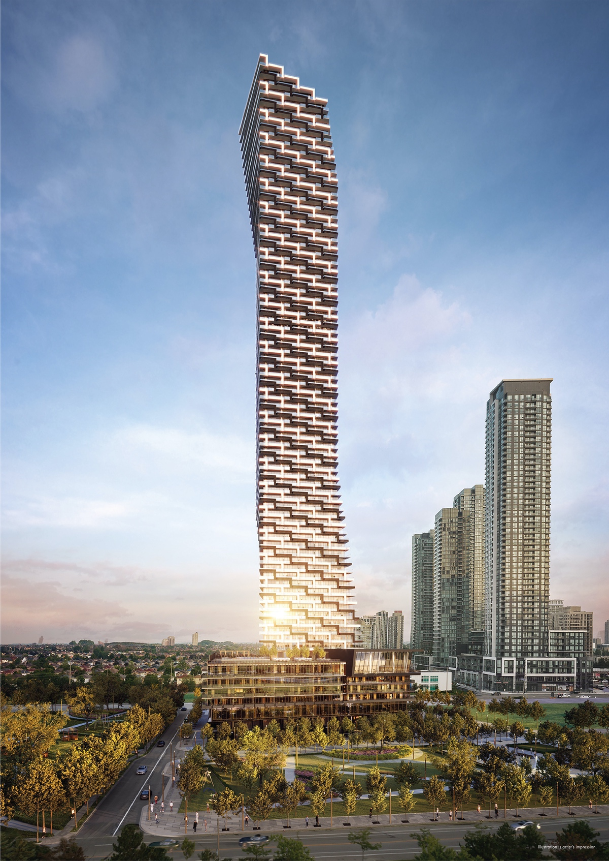 M3 Condos M City Hero Rendering