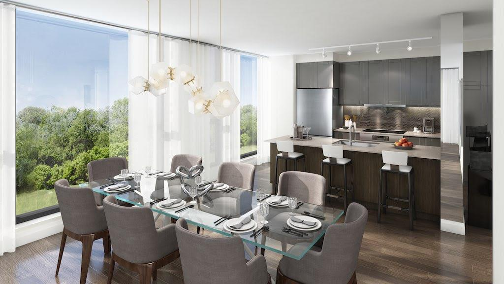 293 The Kingsway Condos Dining & Kitchen