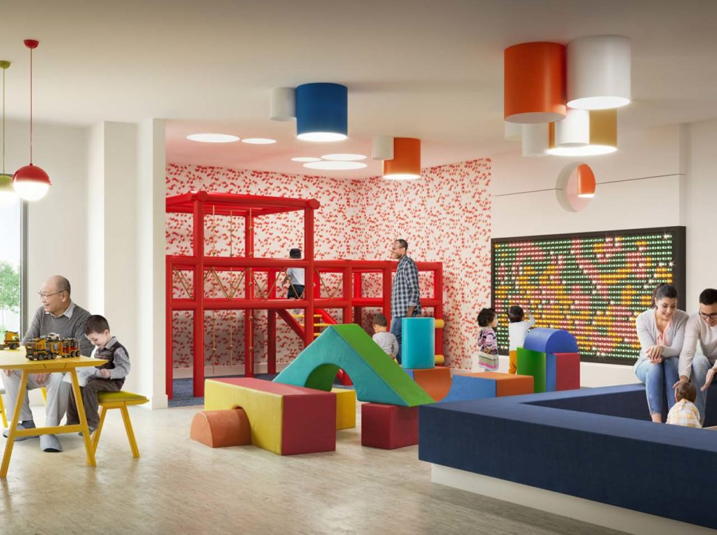 Artworks Condos Kids Room