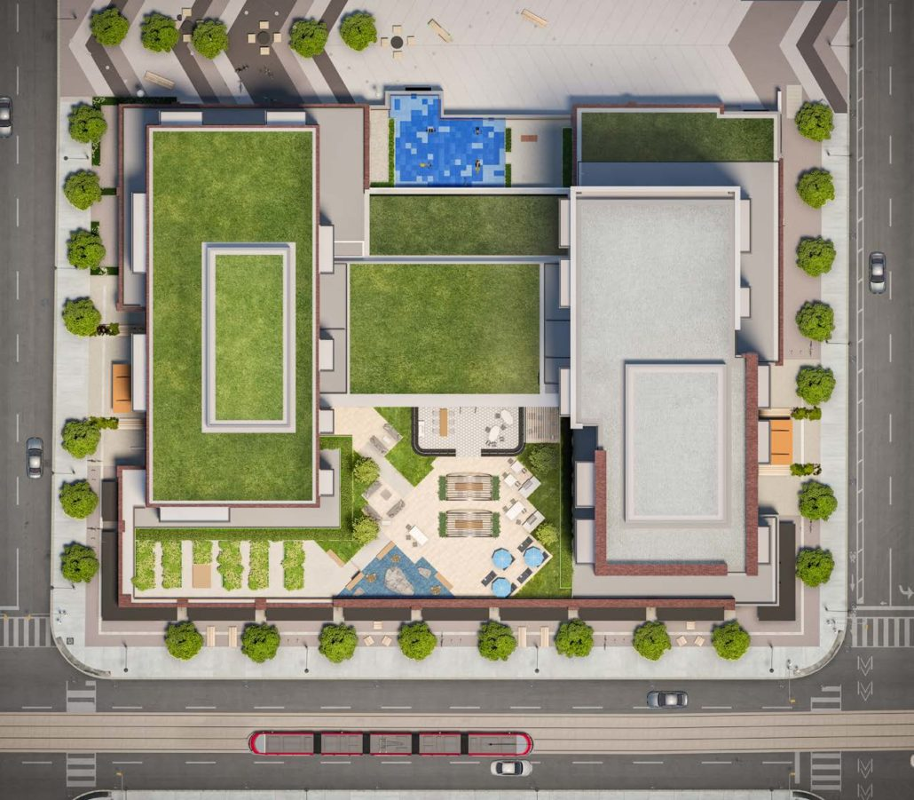 Site Plan at Artworks Condos