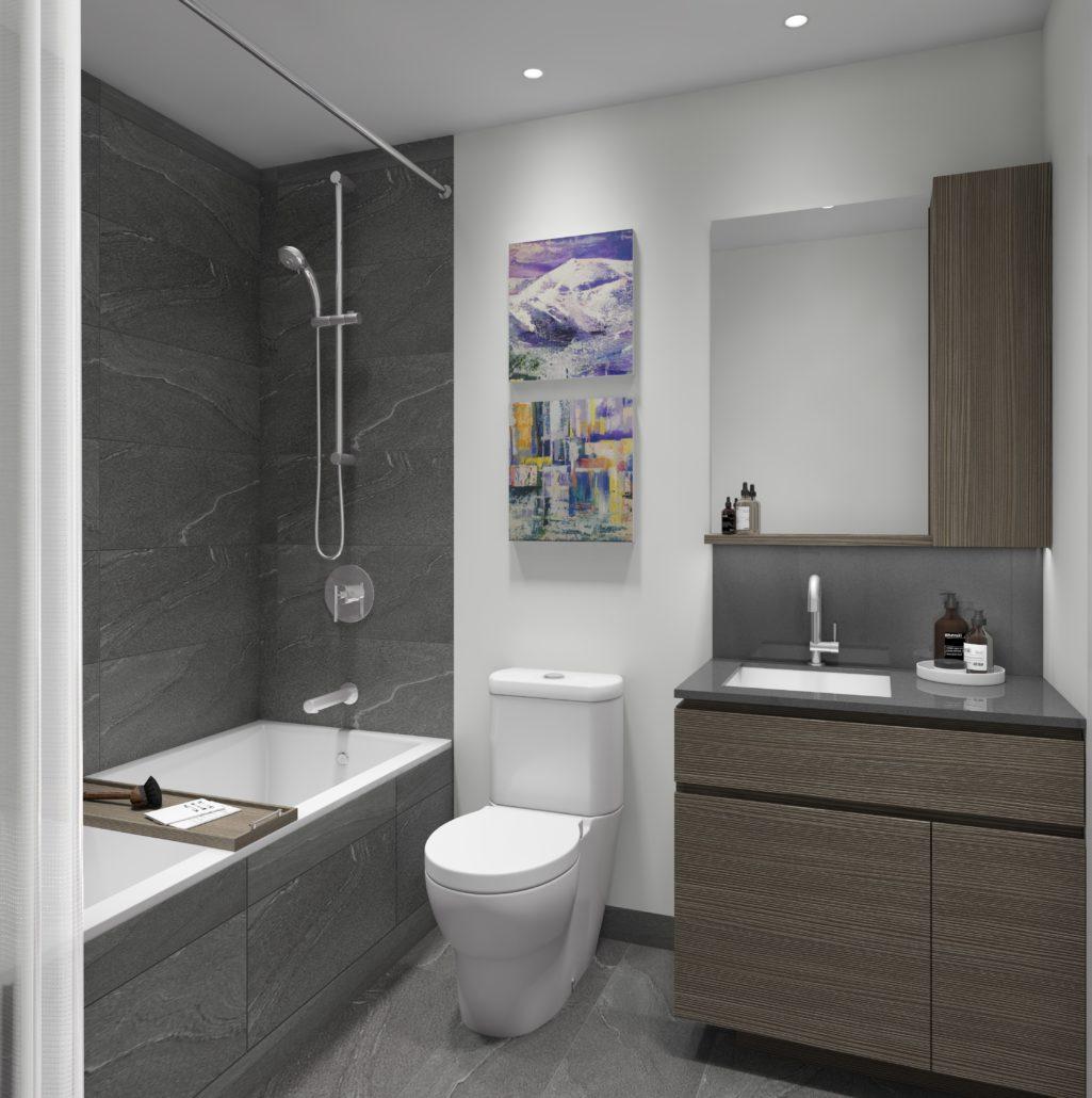 Lake Suites Tower Bathroom