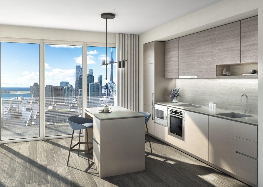 Lake Suites Tower Kitchen