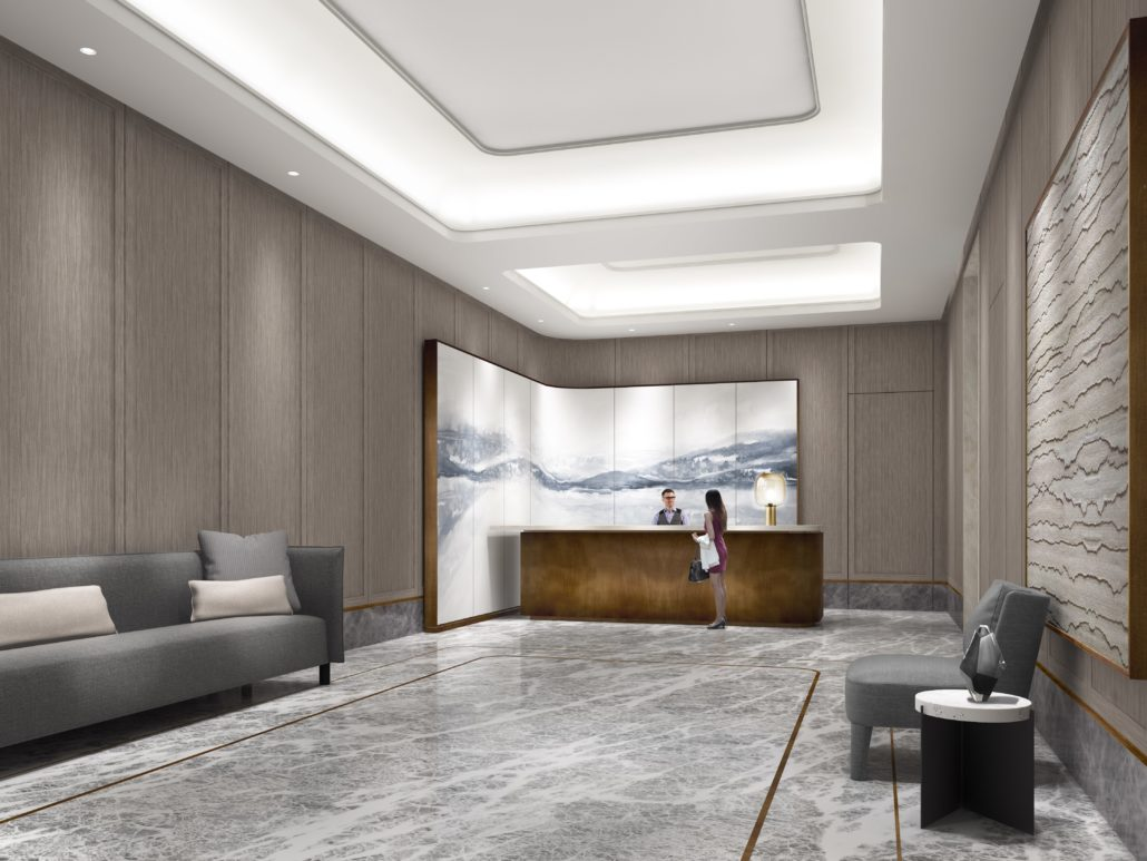 Lake Suites Tower Lobby