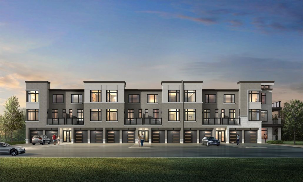 NuTowns Exterior Rendering