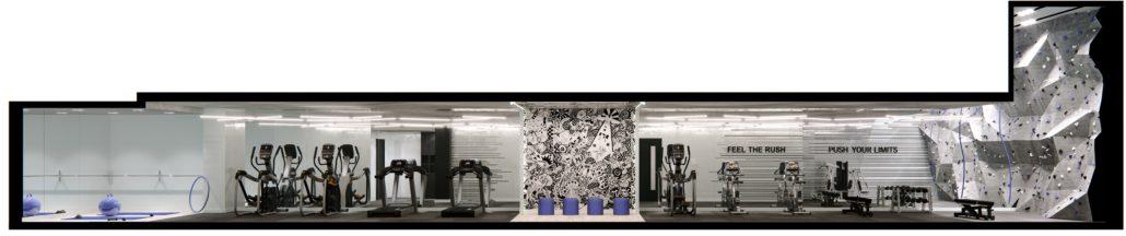 RUSH Condos Gym