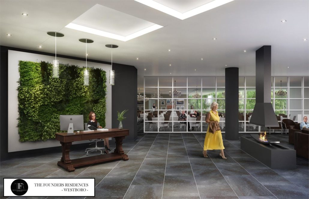 The Founders Residences - Westboro Lobby