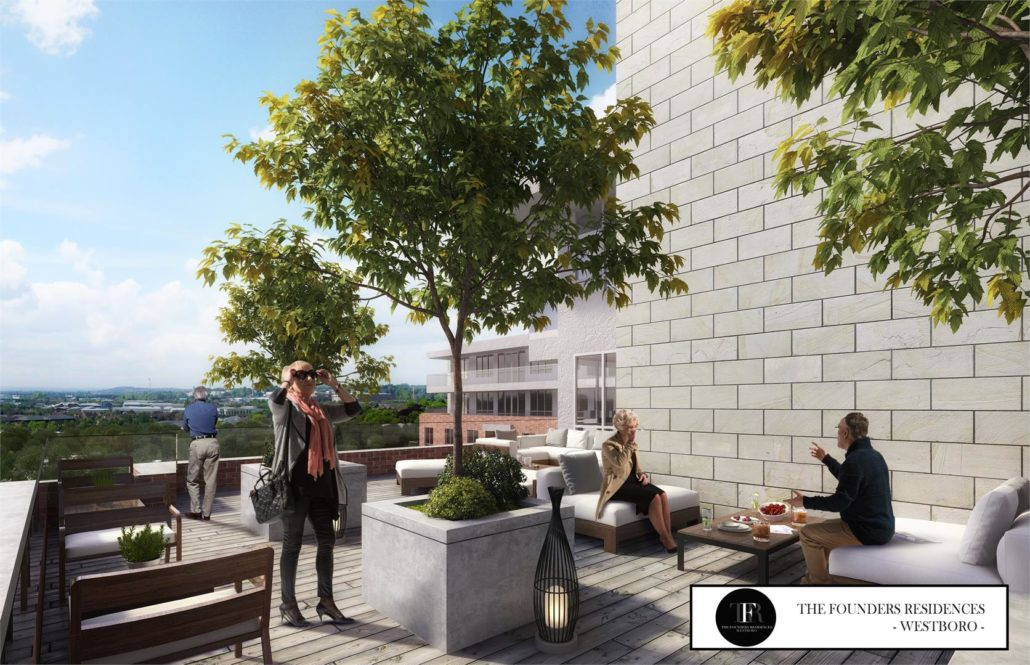 The Founders Residences - Westboro Rooftop Terrace