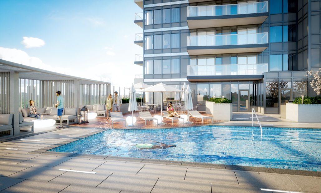 Universal City 2 Condos Pool