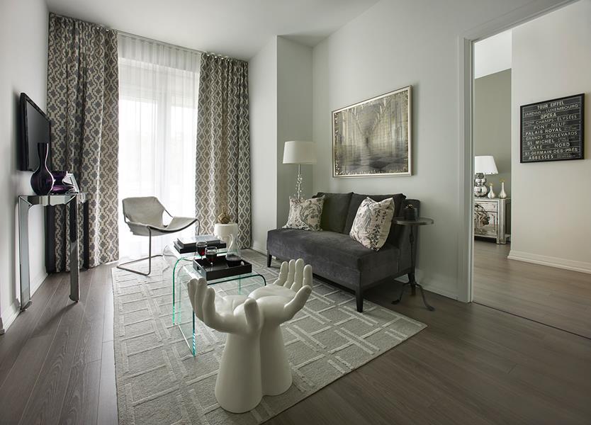 Alto & Parkside at Atria Living Room