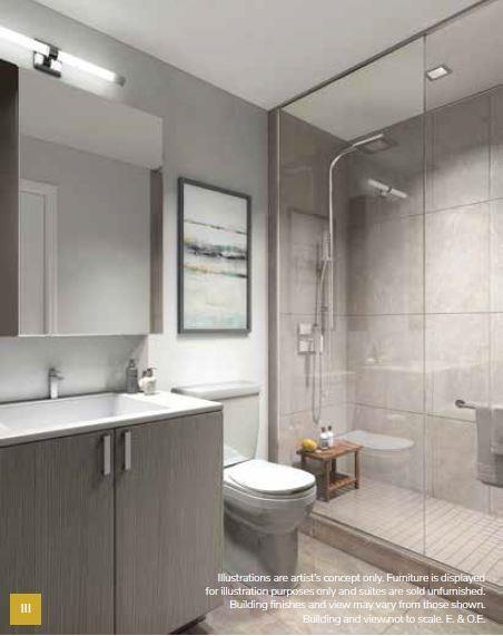 Keystone Condos Bathroom