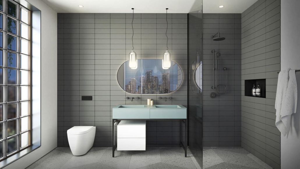 KING Toronto Penthouse Bathroom