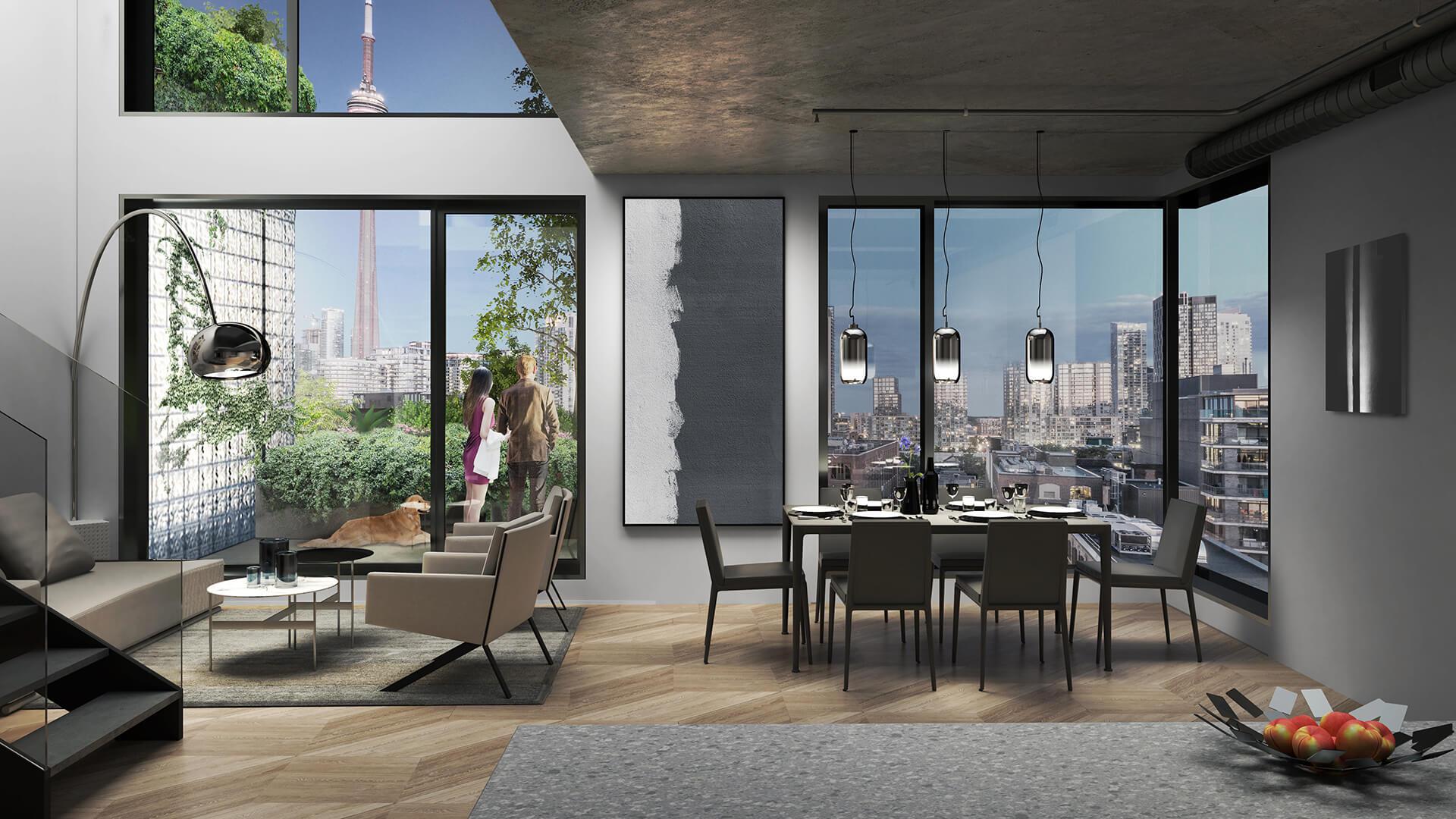 KING Toronto Penthouse Dusk