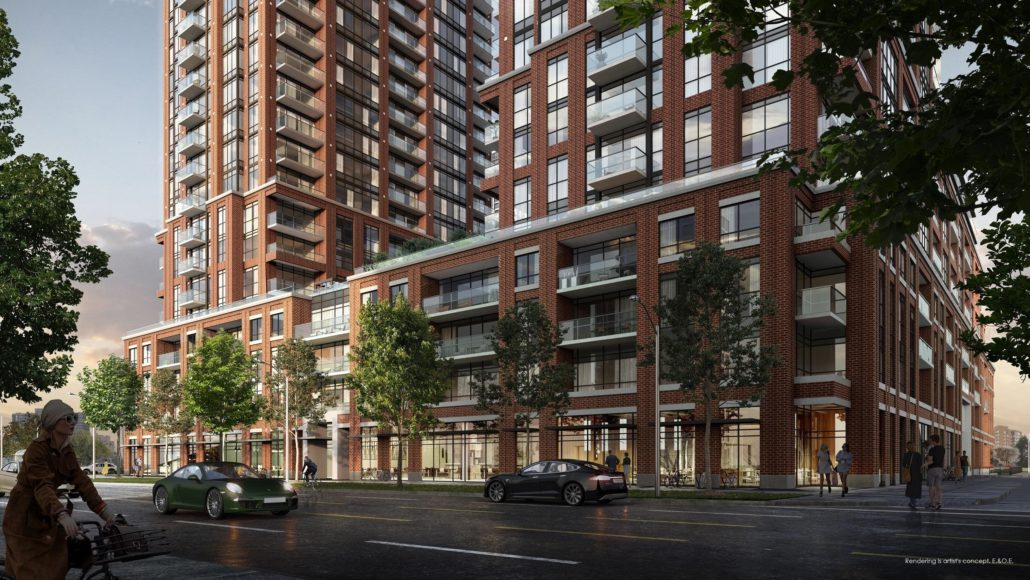 Pinnacle Toronto East Rendering