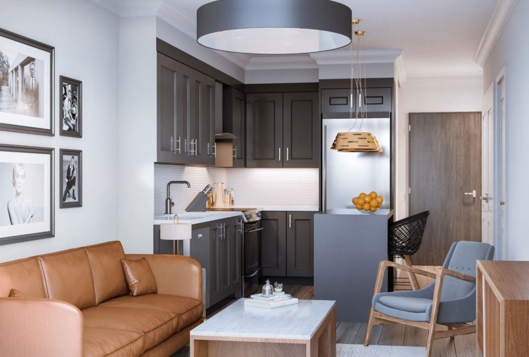 Ro at Blackstone Condominiums Interior Rendering