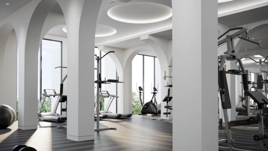 8 Cedarland Condos Fitness Area