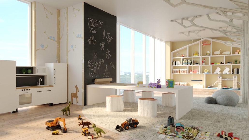 8 Cedarland Condos Kids Play Room