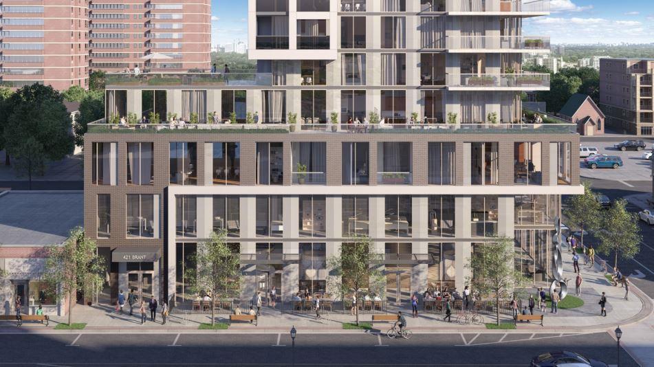 Gallery Condos and Lofts Rendering