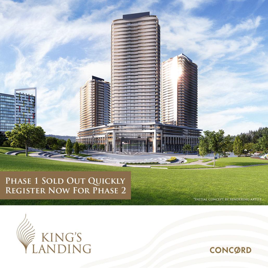 King's Landing Phase 2 Condos Rendering