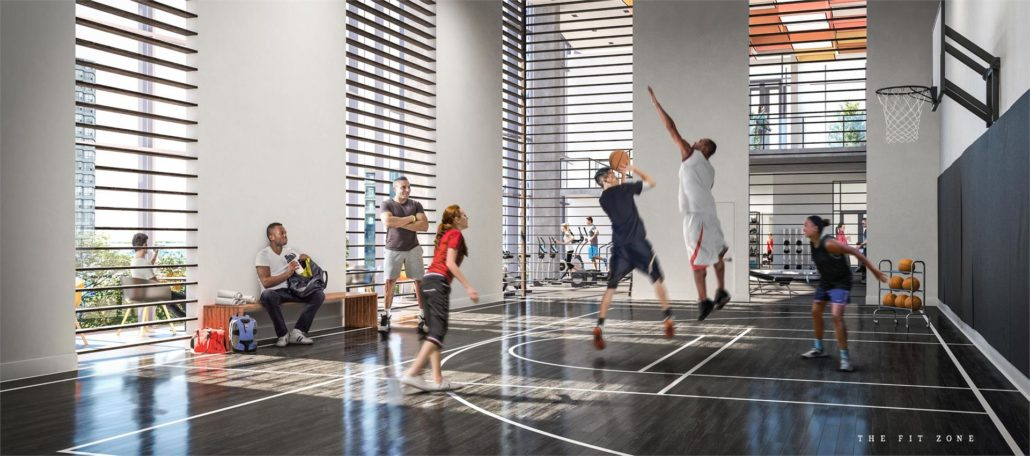 The Wesley Tower at Daniels City Centre Condos Fitness Centre