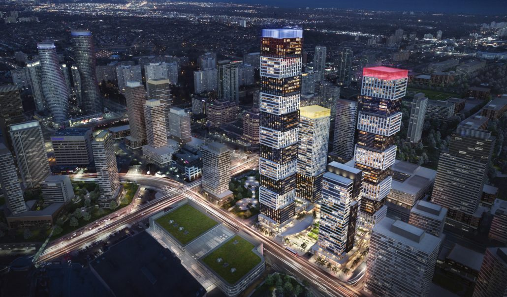 Exchange District Rendering