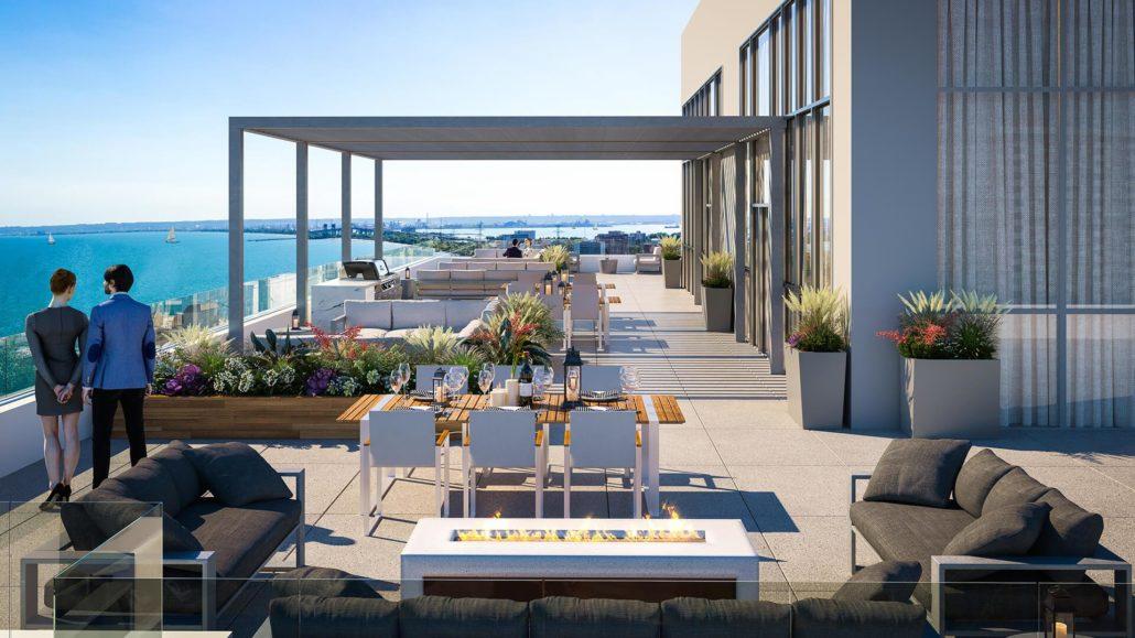 Gallery Condos and Lofts Rooftop Patio