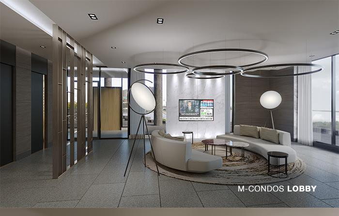 M Condos Lobby