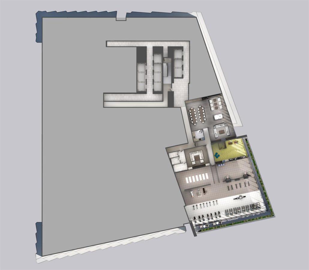 M3 Condos 6th Floor Amenities