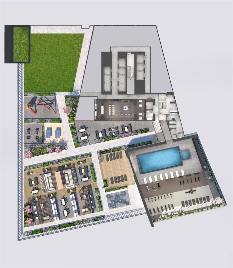 M3 Condos 7th Floor Plan Amenities
