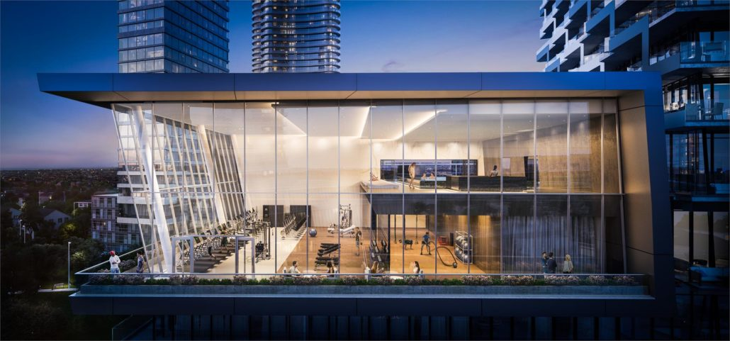 M3 Condos Pool and Gym