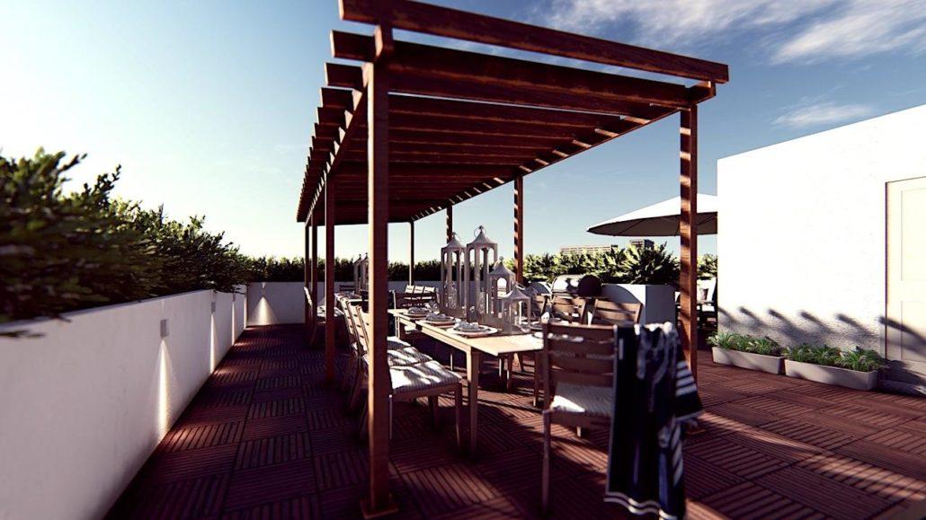 Nahid on Broadview Rooftop Terrace