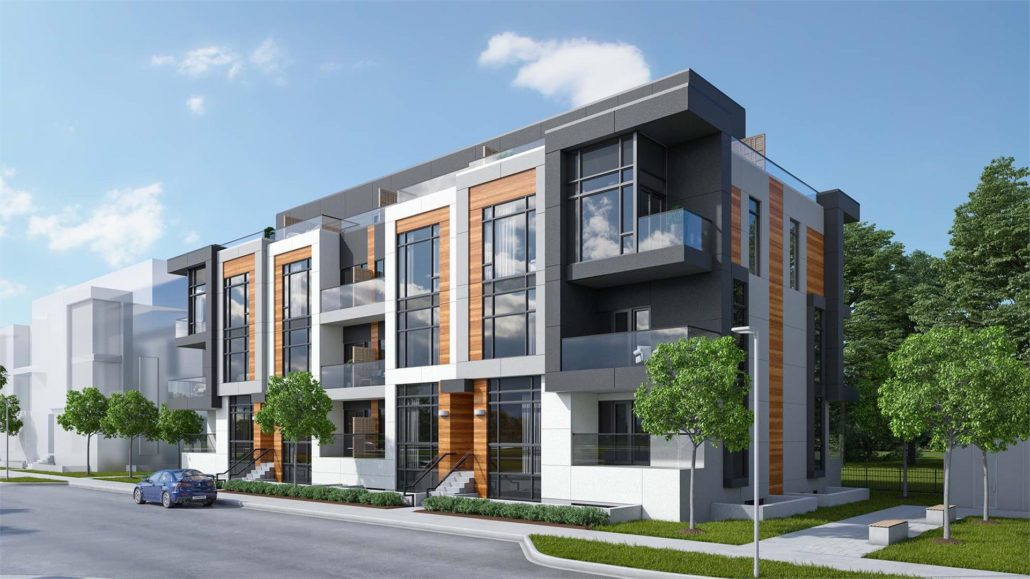 NEXT - Elgin East Phase 2 Condos Exterior Rendering
