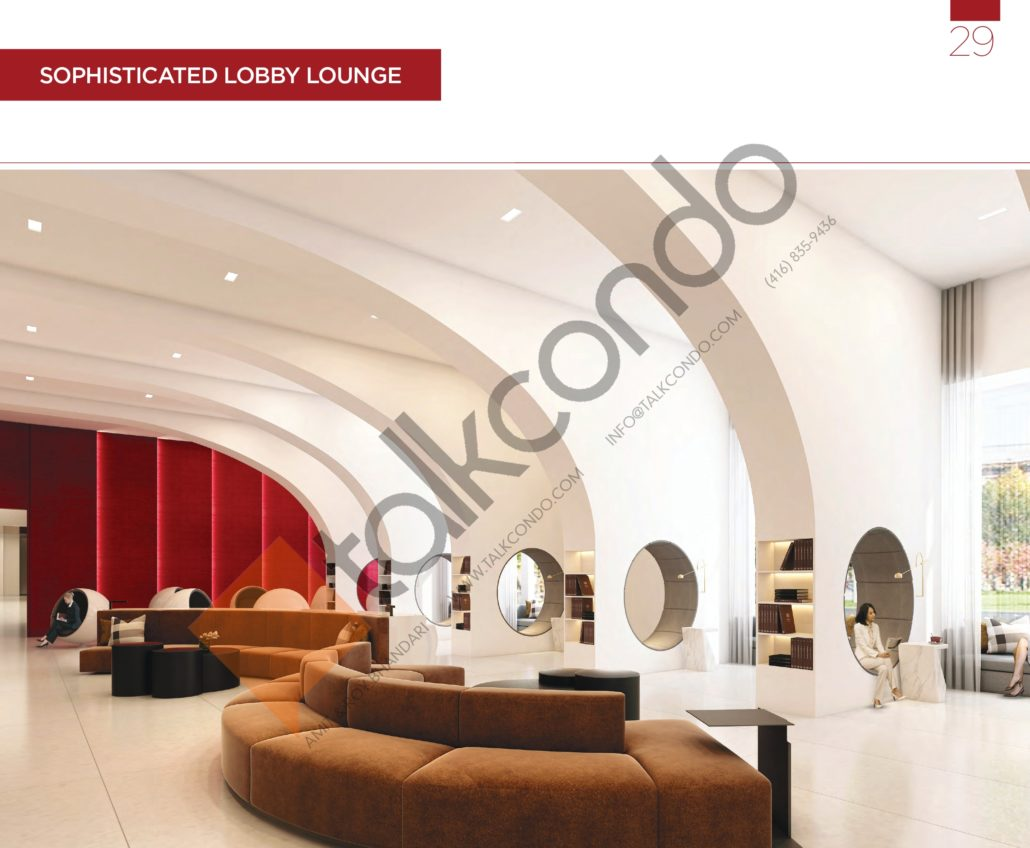KSquare Condos Lobby Lounge