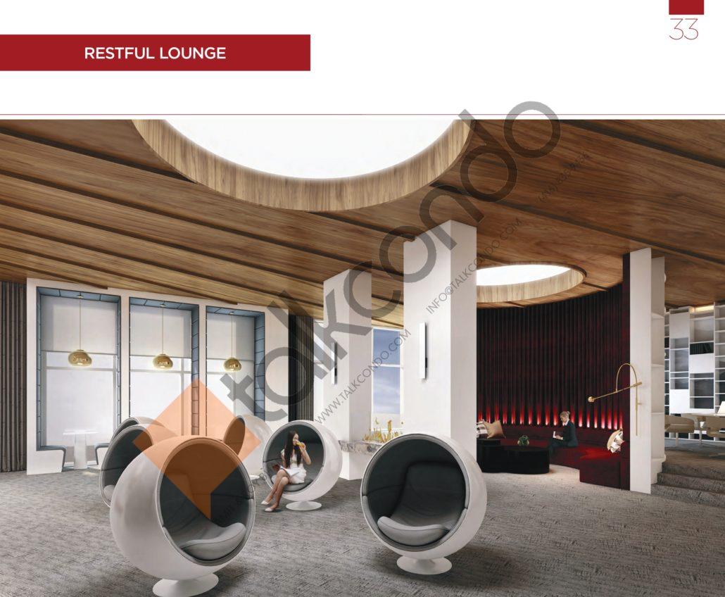 KSquare Condos Restful Lounge