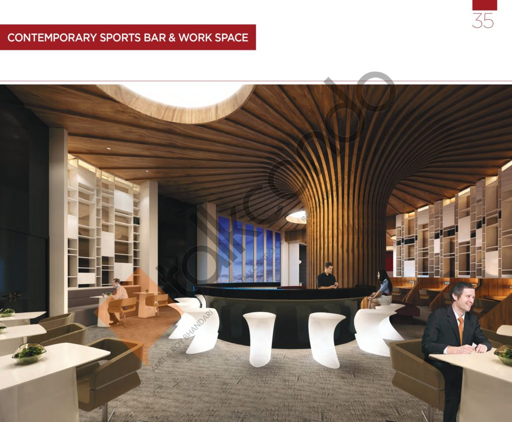 KSquare Condos Sports Bar and Work Space