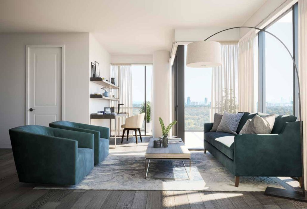 living room with a view notting hill condos