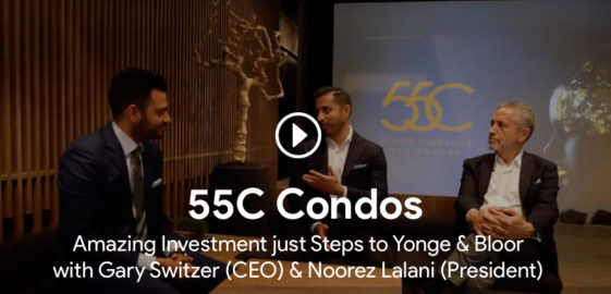 roy bhandari interviewing gary switzer and noorez lalani for 55c condos