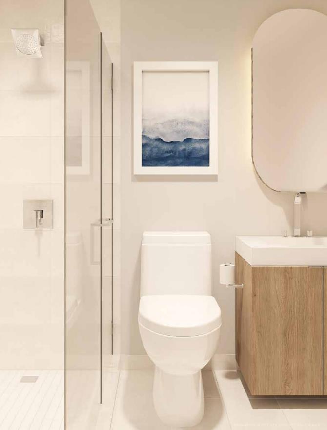 Azura Condos Bathroom