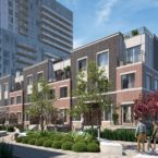 Mobilio Townhomes Rendering