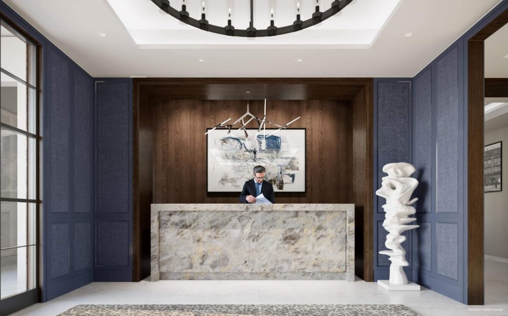 Notting Hill Condos Lobby