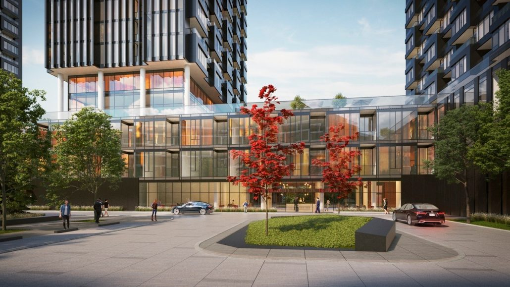 One Crosstown Condos Rendering