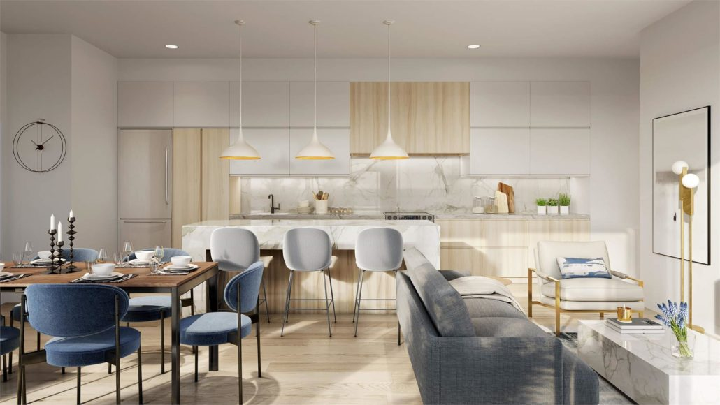 Rise at Stride Condos Interior