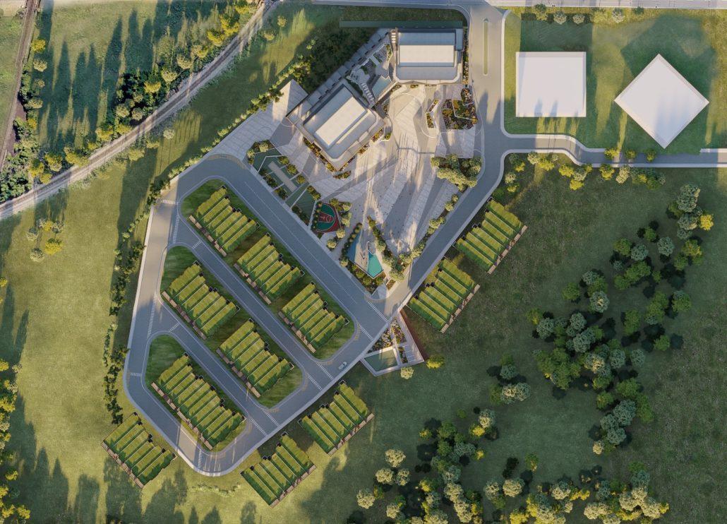 SXSW Condos & Towns Aerial