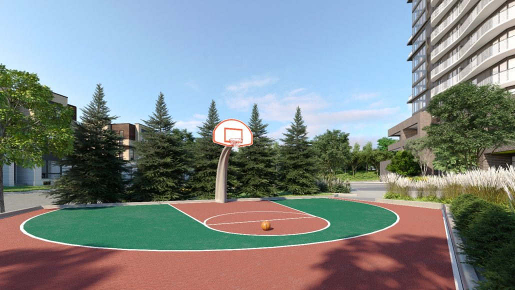 SXSW Condos & Towns Basketball Court