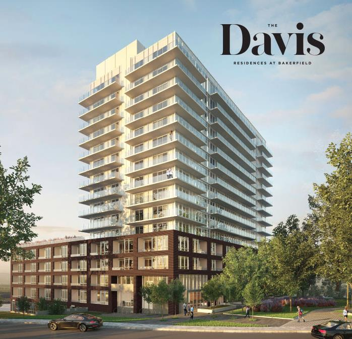 The Davis Residences at Bakerfield Rendering