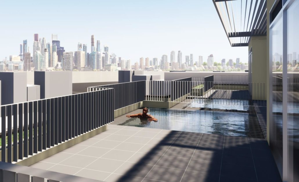 The Lookout Condominiums Pool