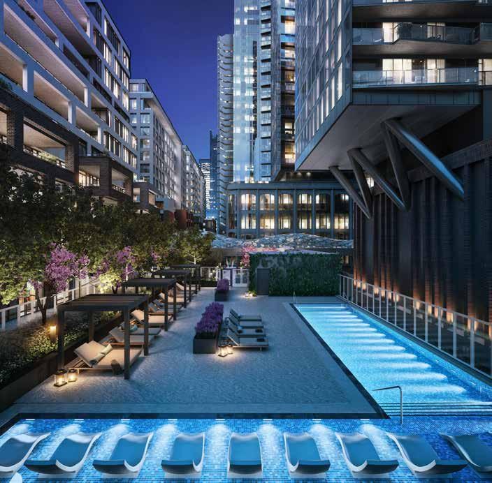 Tridel at The Well Condos Pool