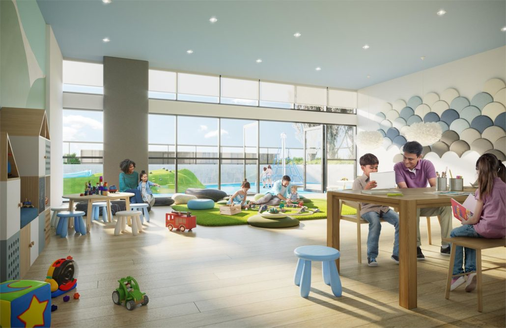 Avia Condos Kids Indoor Play Area