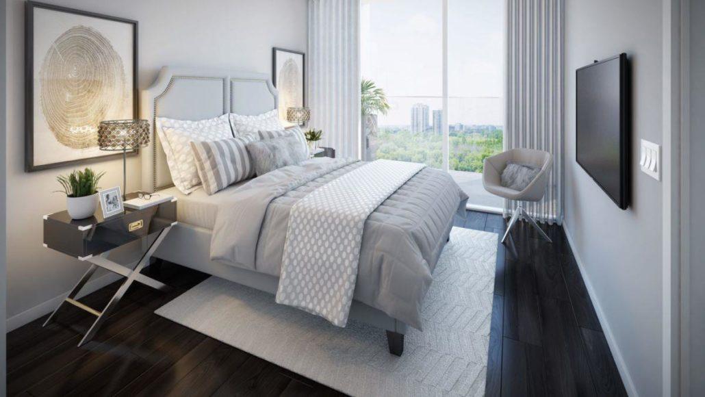 GO.2 Condos Master Bedroom