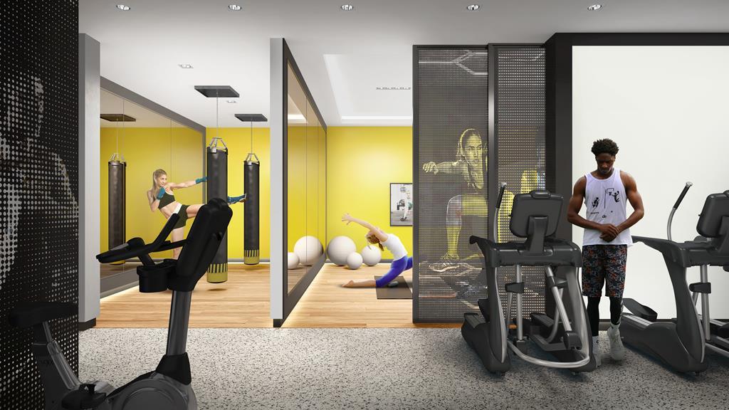 in.DE Condos Gym Yoga Kickboxing Studio